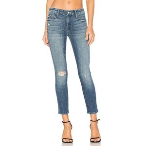 Mother The Looker Crop Skinny Jeans in Gypsy